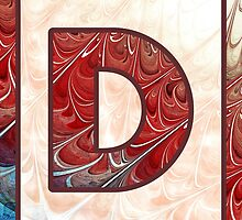 Fractal – Alphabet – D is for Digital by Anastasiya Malakhova