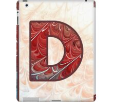 Fractal – Alphabet – D is for Digital iPad Case/Skin