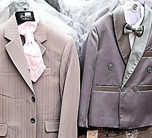 Little boys' suits by Woodie