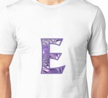 Fractal – Alphabet –  E is for Elegance Unisex T-Shirt