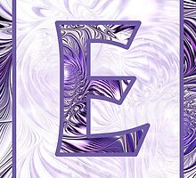 Fractal – Alphabet –  E is for Elegance by Anastasiya Malakhova