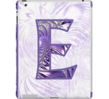 Fractal – Alphabet –  E is for Elegance iPad Case/Skin