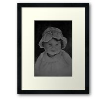 Sophie's Hat Framed Print