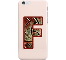Fractal – Alphabet – F is for Fractal Creations iPhone Case/Skin