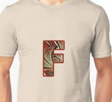 Fractal – Alphabet – F is for Fractal Creations Unisex T-Shirt