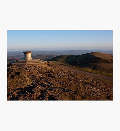 Worcester Beacon and North Hill Photographic Print