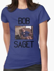 "Tourettes Guy ""Bob Saget"" Womens Fitted T-Shirt"