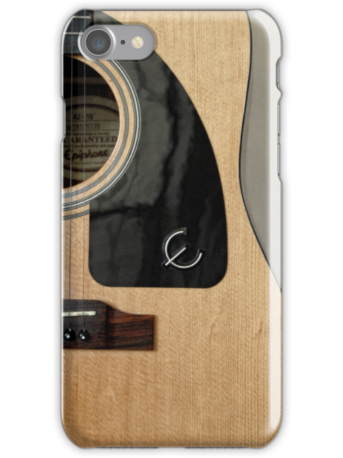 Acoustic Beauty - iPhone Case by Colleen Drew