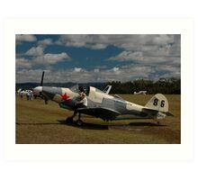 Airabonita @ Festival Of Flight, Queensland, 2011 Art Print
