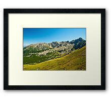Tatra Mountains national park Framed Print