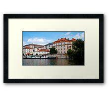 Praha architecture Framed Print