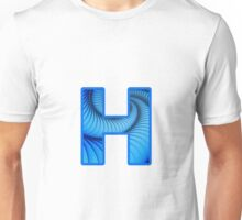 Fractal – Alphabet – H is for Hypnosis Unisex T-Shirt
