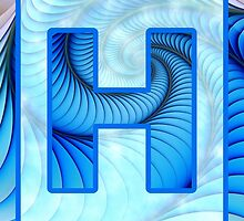 Fractal – Alphabet – H is for Hypnosis by Anastasiya Malakhova
