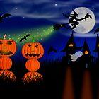 Mr. & Mrs. Pumpkin (HAPPY HALLOWEEN) by Katy Breen