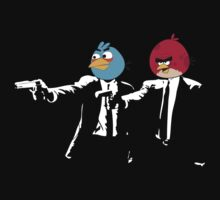 Angry Birds Pulp Fiction by Groenendijk