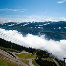 Alpine mountains by Dfilyagin