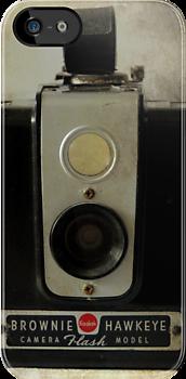 Brownie Hawkeye - iPhone case by Colleen Drew
