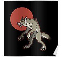 Redmoon Werewolf Poster