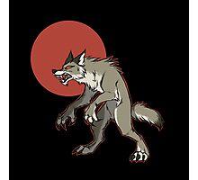 Redmoon Werewolf Photographic Print