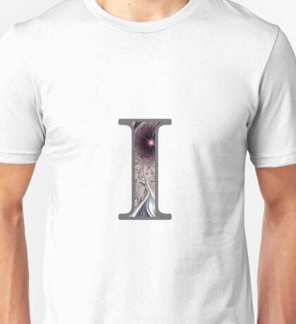 Fractal – Alphabet – I is for Illusion Unisex T-Shirt