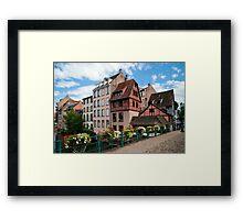 Strasbourg. Small France Framed Print