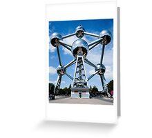 Brussel. Atomium Greeting Card