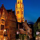 Night Brugge by Dfilyagin