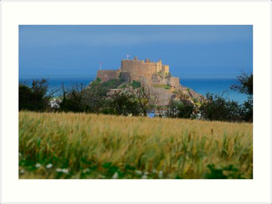 Mont Orgueil Castle by Mark Bowden