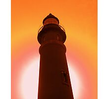 Ponce Inlet lighthouse-2 Photographic Print