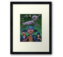Alvin's apparition Framed Print