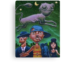 Alvin's apparition Canvas Print