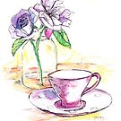 A cup of tea for you? by Santie Amery