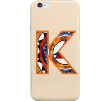 Fractal – Alphabet – K is for Kaleidoscope iPhone Case/Skin