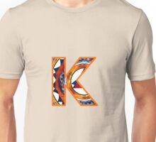 Fractal – Alphabet – K is for Kaleidoscope Unisex T-Shirt