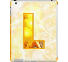 Fractal – Alphabet – L is for Light iPad Case/Skin