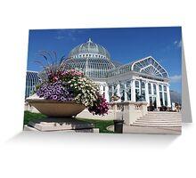 Marjorie McNeely Conservatory - St. Paul, Minnesota Greeting Card