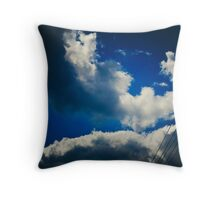 Powers inline and outside the divine shines Throw Pillow