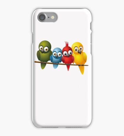 Cute overload - Birds iPhone Case/Skin