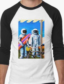 Land, Sea & Sky Men's Baseball ¾ T-Shirt