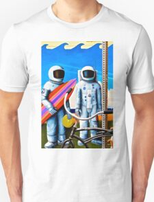Land, Sea & Sky Unisex T-Shirt