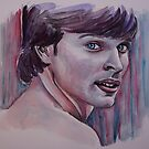 Portraits of Tom Welling, Clark Kent of Smallville, featured in The Group No Nudes by Françoise  Dugourd-Caput