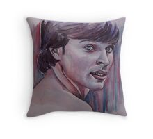 Portraits of Tom Welling, Clark Kent of Smallville, featured in The Group No Nudes Throw Pillow