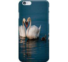 swans heart iphone case iPhone Case/Skin