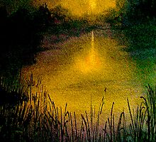 Heart of Darkness...The Marshes IPhone Case by ©Janis Zroback