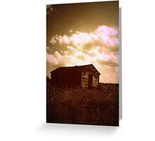 shotgun prairie Greeting Card