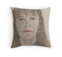 Another Self Portrait Throw Pillow