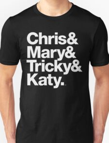 Christopher Tracy & Tricky & Mary Sharon Threads Unisex T-Shirt