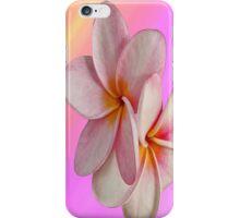 Pink Plumeria  iPhone Case/Skin