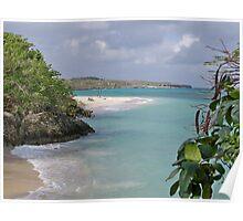 Lazy Day on Guardalavaca Beach Poster