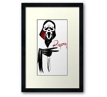 Deuces: Ghostface Edition Framed Print
